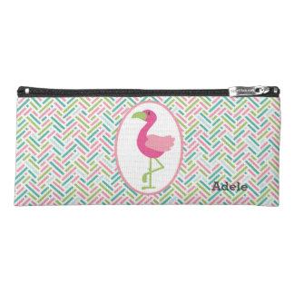 Customized Flamingo Pencil Case