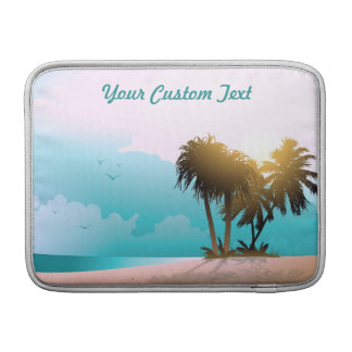 Customized Florida Beach Image MacBook Air Sleeve