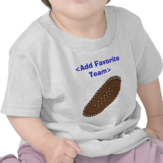 Customized Football with your team T-shirt