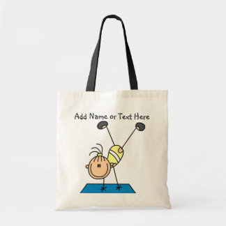 Customized Girl Gymnast Handstands Tote  Bag