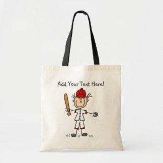 Customized Girls  Baseball  Tote Bag