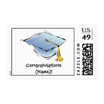 Customized Graduation  Postage Stamp