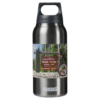 Customized Grand Teton Photo Souvenir Insulated Water Bottle