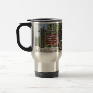 Customized Grand Teton Photo Souvenir Mugs