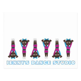 Customized Gym Dance Studio Gymnastics Acrobatics Postcard
