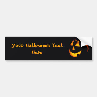 Customized Halloween Bumper Sticker