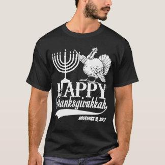 Customized Happy Thanksgivukkah T-Shirt