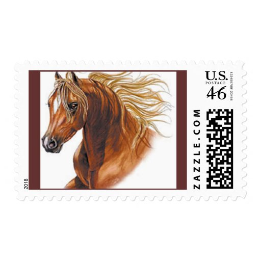 Customized Horse Invitations and Cards Postage Stamps