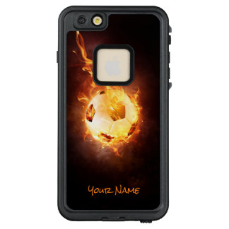 Customized Hot Football, Ball, Soccer LifeProof FRĒ iPhone 6/6s Plus Case
