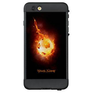 Customized Hot Football, Ball, Soccer LifeProof NÜÜD iPhone 6 Plus Case
