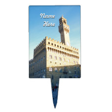 Customized Image of Florence, Italy Cake Topper