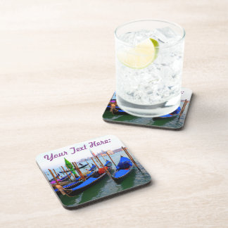 Customized Image of Gondolas in Venice Coaster