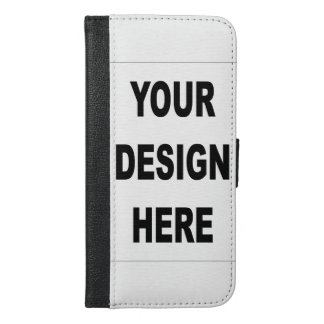 Customized iPhone 6 Plus Wallet Case