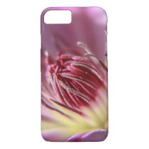 Customized iPhone case with clematis bloom