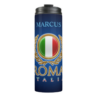 Customized Italian Bandiera Thermal Tumbler