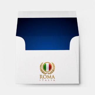 Customized Italian Flag Envelope