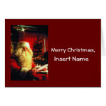 Customized Letter from Santa Greeting Card