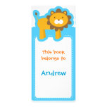 Customized*Lion Bookmarks Personalized Rack Card