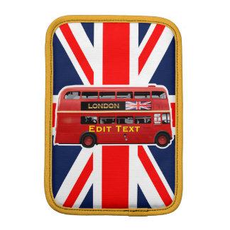 Customized London Red Bus iPad Mini Sleeve