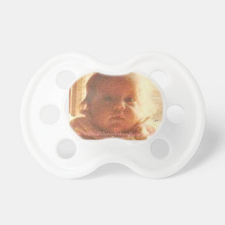 CUSTOMIZED - MICHELLE BABY PIC PACIFIER