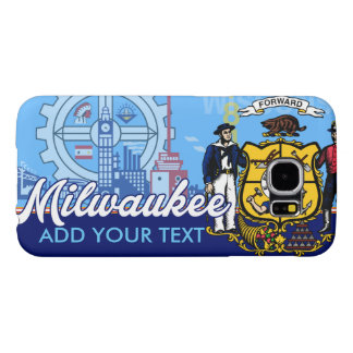 Customized Milwaukee Wisconsin Flag Samsung Galaxy S6 Case