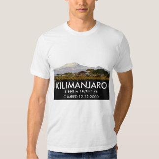 Customized Mount Kilimanjaro Climb Commemorative T Shirt