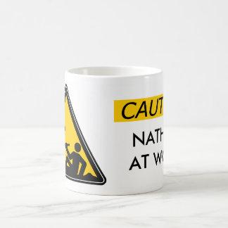 Customized Mugs - Caution Men At Work