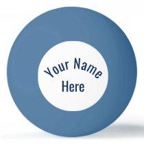 Customized Name Ping Pong Ball