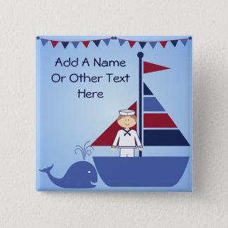 Customized Nautical Button