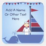 Customized Nautical Stickers