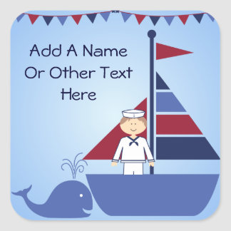 Customized Nautical Stickers