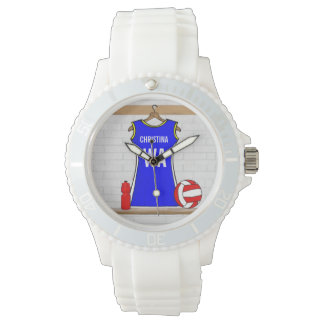 Customized netball sporty watch