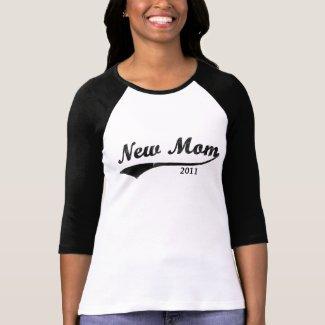 Customized New Mom T-Shirt shirt