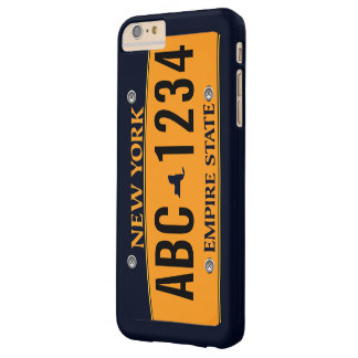 Customized New New York Vehicle Licence Plate Barely There iPhone 6 Plus Case