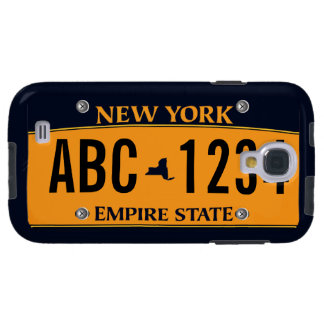 Customized New New York Vehicle Licence Plate Galaxy S4 Case