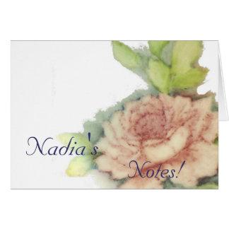 Customized Notes!-Customize Card