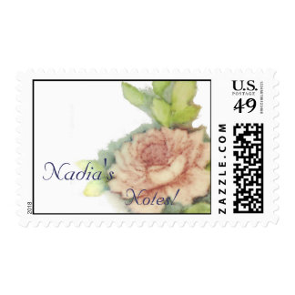 Customized Notes! Postal Stamp-Customize