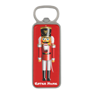 Customized Nutty Nutcracker Cartoon Magnetic Bottle Opener