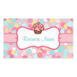 Customized Pastel Cupcake Business Card