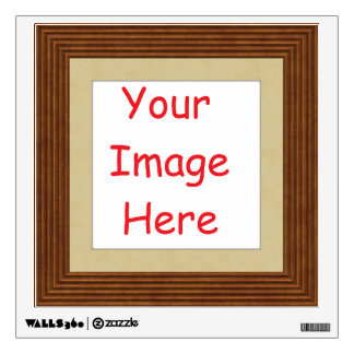 Customized personalized add your picture to wall decal
