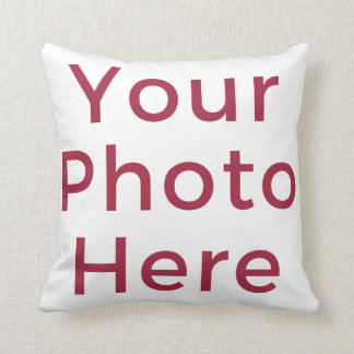 Customized Personalized Photo Double Sided DIY Throw Pillow