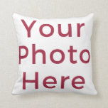 "Customized Personalized Photo Double Sided DIY Throw Pillow<br><div class=""desc"">Easily customize this product with your own photos to create unique gift or something special for yourself. This makes it super easy, fun, and affordable for do-it-yourself-ers to create a custom photo printed product exactly the way you want it. Start by clicking 'Customize, ' above, and experience how simple it...</div>"