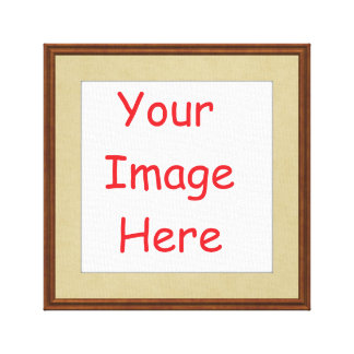 Customized personalized printed frame picture canvas print