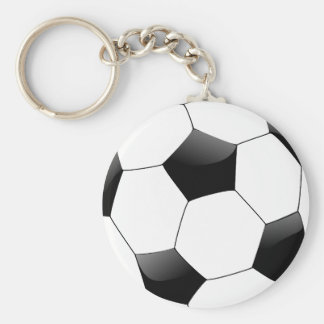 Customized Personalized Saucer Football Keychain