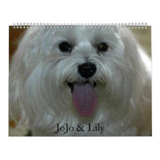 Customized Pet Calendar
