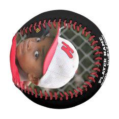 Customized Photo Baseball at Zazzle