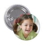 Customized Photo Birthday Button
