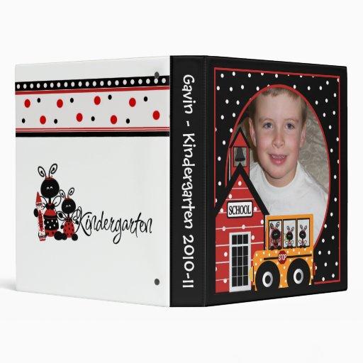 Customized Photo Kindergarten Binder