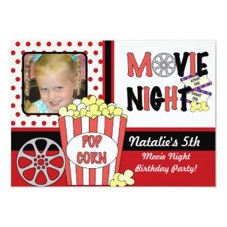 Customized Photo Movies Birthday Invitation