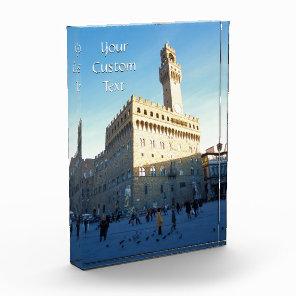 Customized Photo of Palazzo Vecchio Award